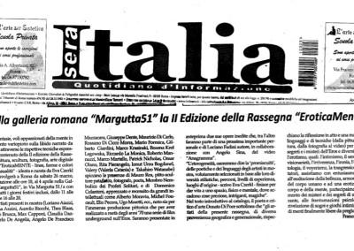 Italia sera Margutta