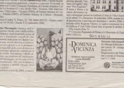 la domenica di Vicenza