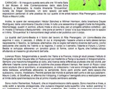 la voce d'Italia M. VISTALI