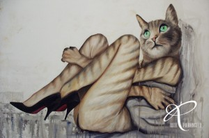2009 - CAT WOMAN - cm82x118